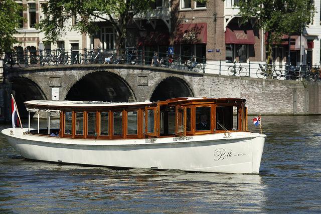 salonboot Belle van Zuylen in Amsterdam