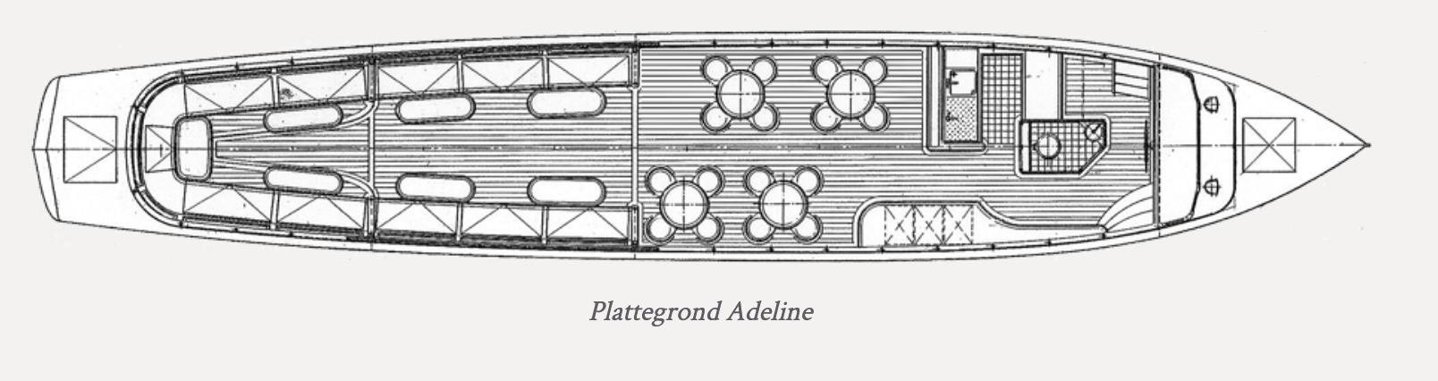 Adeline plattegrond